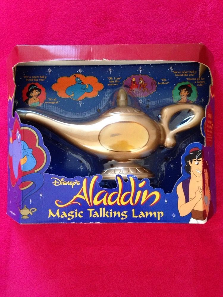 c5442848512872 Disney s Aladdin Magic Talking Lamp