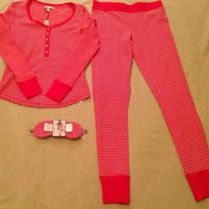 Victoria Secret PJ set - 3 Pieces - XS - Mercari: Anyone can buy & sell