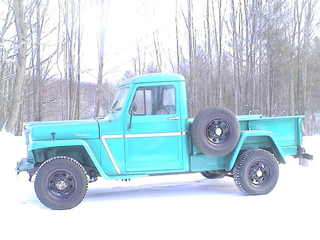 Jeep willys truck for sale 177