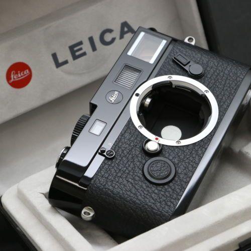 Leica M 72 Lhsa Special Edition Black Paint