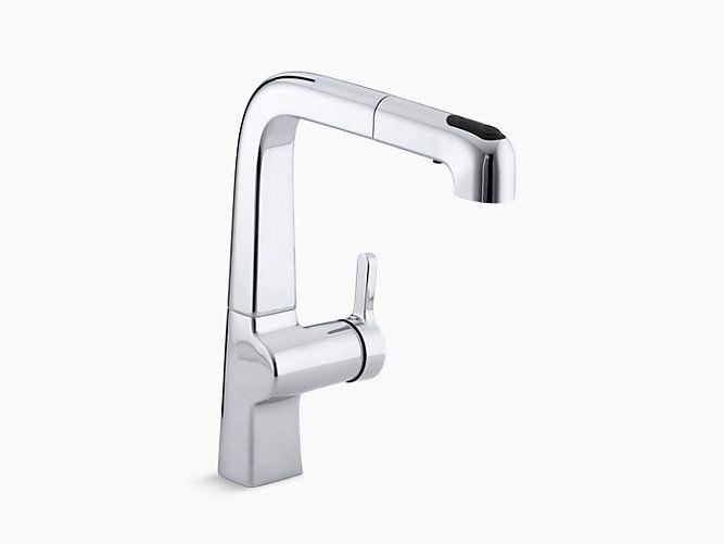 Evoke Single-Handle Kitchen Faucet | K-6331 | KOHLER The ...
