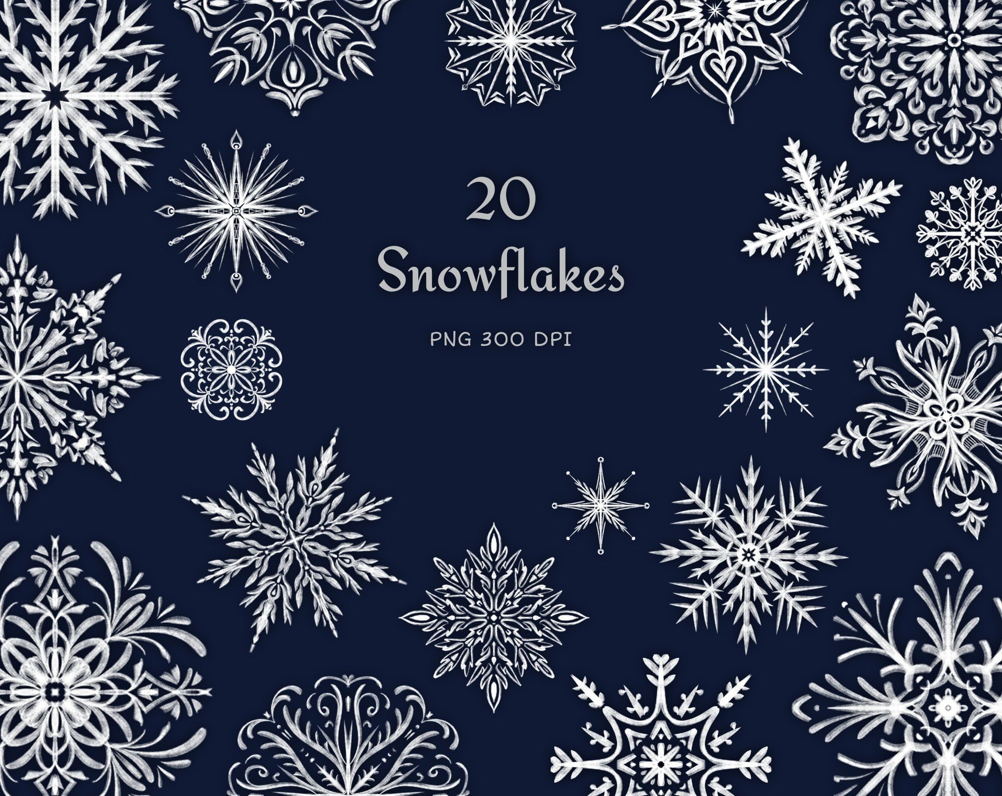 Snowflake Png Clipart Winter Clip Art Christmas Graphics Etsy In 2021 Christmas Graphics Snowflake Images Holiday Clipart