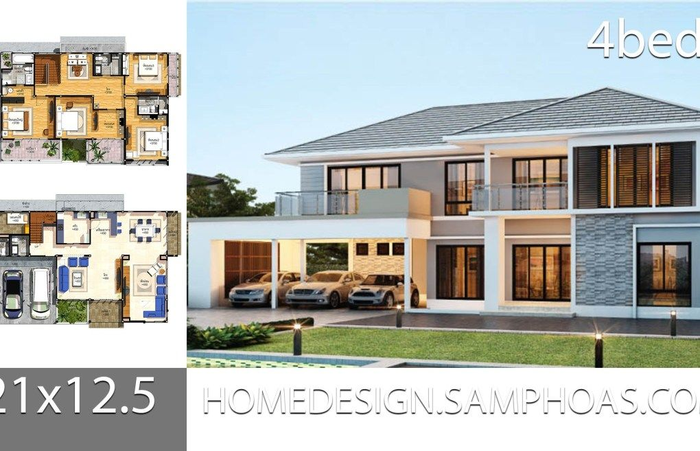 House Plans Idea 21 12 5 With 4 Bedrooms House Layout Plans Bungalow House Design Modern House Plans
