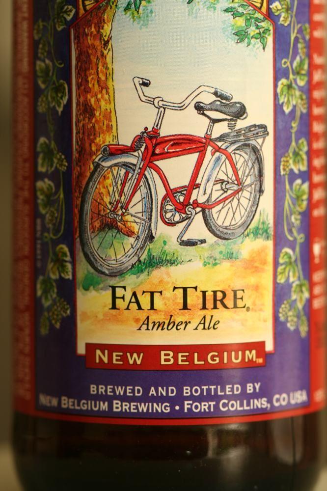 Fat Tire Amber Ale New Belgium Brewery Breweriana Pinterest