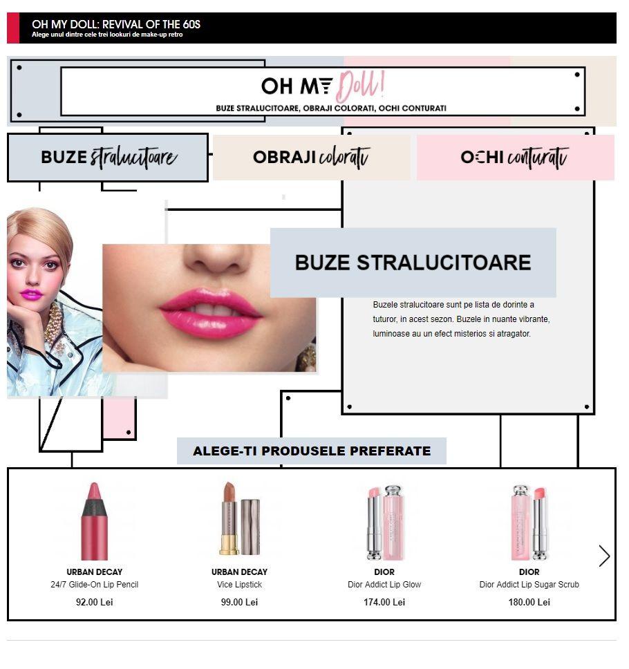 Catalog Sephora Romania Look Uri De Make Up Retro Cosmetice