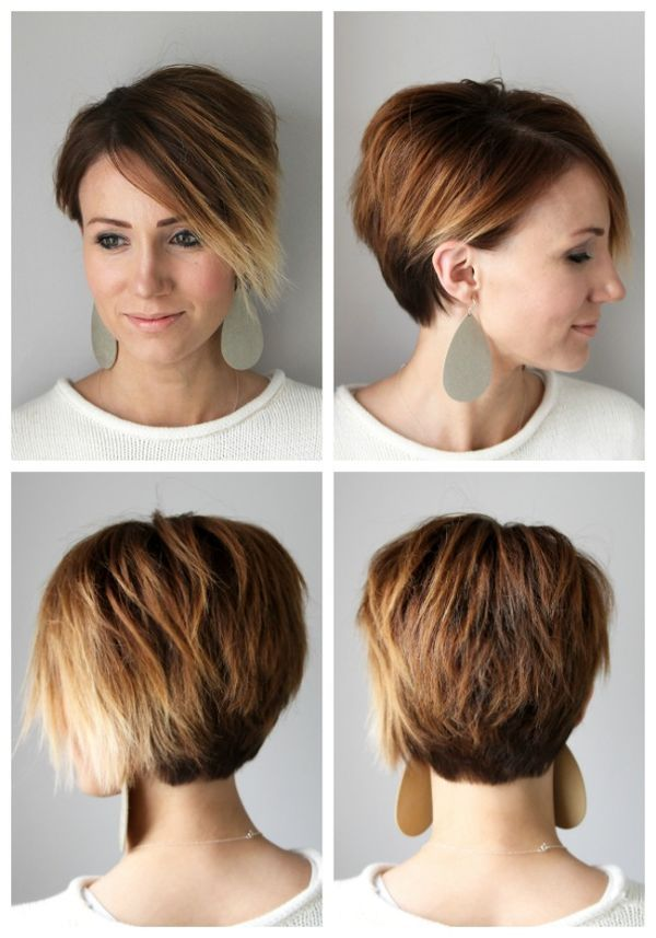 Short Hair Tutorial: Styling a Long Pixie for Ever