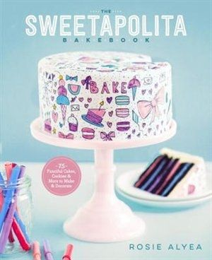 """Paint, doodle, and sprinkle your way to stunning one-of-a-kind sweets.  The world of Sweetapolita is sparkly and sprinkly and charming as can be, with 75 recipes for everything from pretty homemade cookies to decadent layer cakes. But what really sets these treats apart are interactive designs that let everyone in on the fun of decorating: Painted Mini Cakes are served with edible """"paint"""" for guests to personalize at the table, the fondant-covered tiered Chalk-a-Lot cake is paired with..."""
