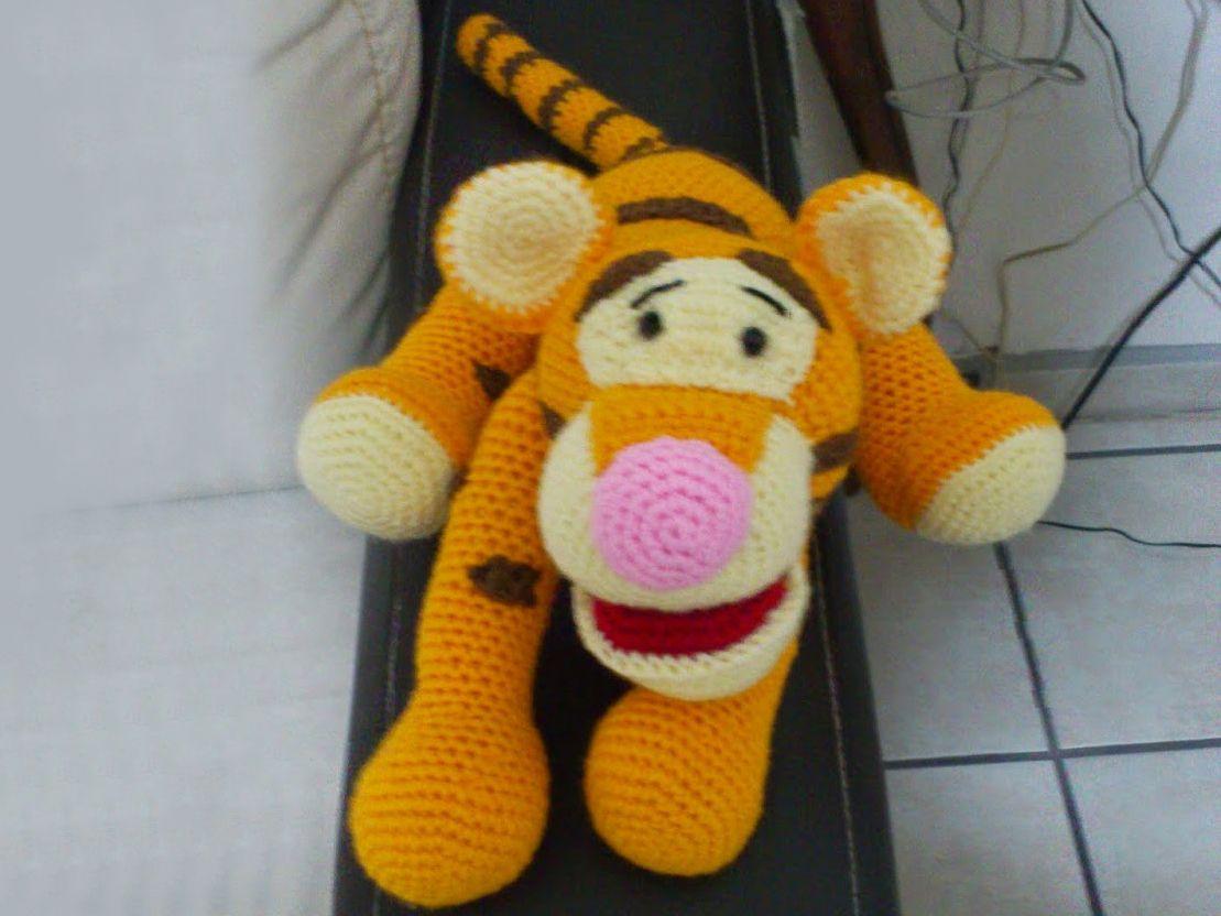Free Tigger Amigurumi Pattern : Тигра амигуруми вязание crocheted toys amigurumi