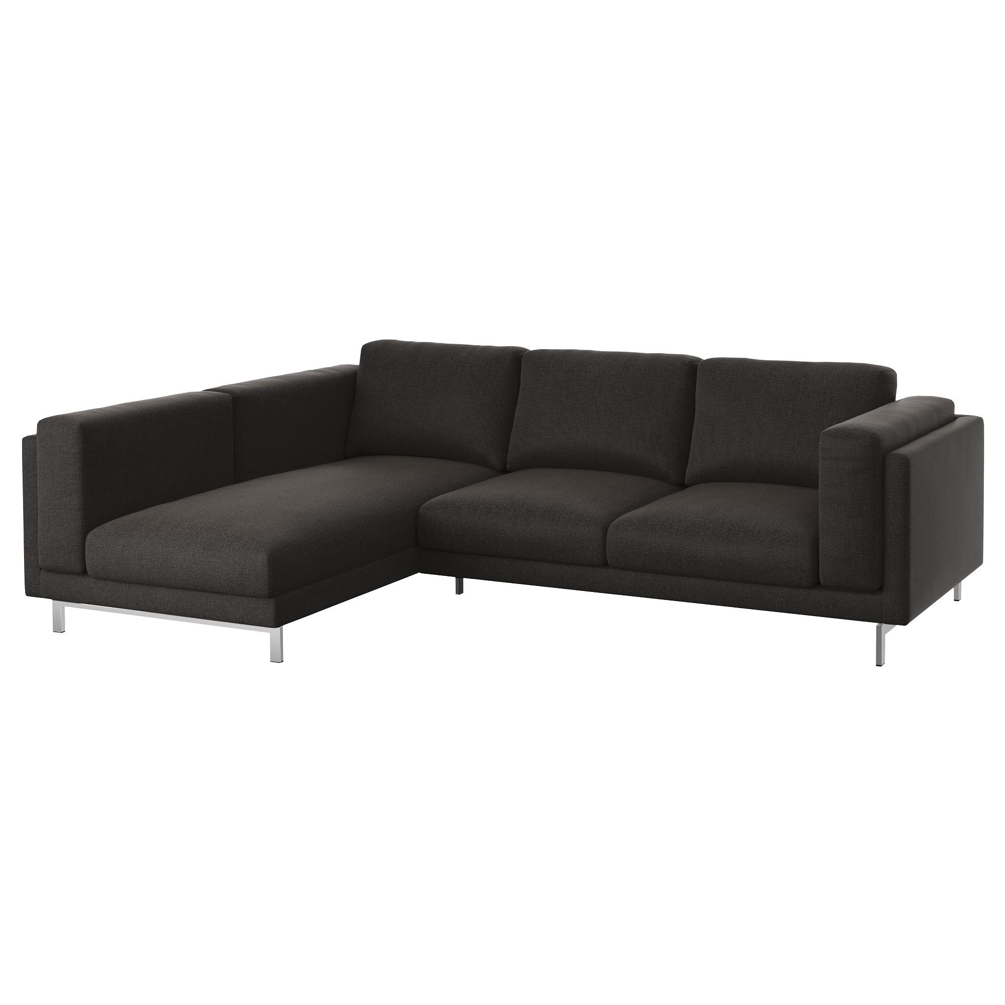 Design Bank Met Chaise Longue.Nockeby 3 Zitsbank Met Chaise Longue Links Tallmyra Tallmyra