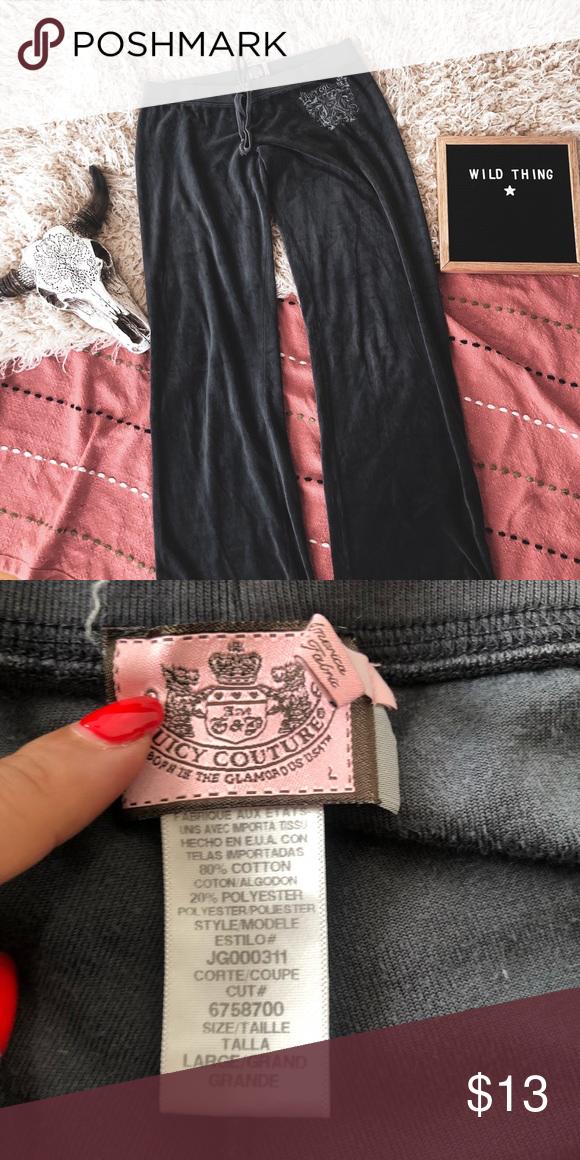 Velour Juicy Couture Track Pants Y2k Vintage Juicy Couture Couture Clothes Design