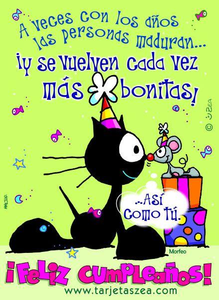 Tarjeta De Cumpleaños Que Pase El Tiempo Y Nos Volvamos