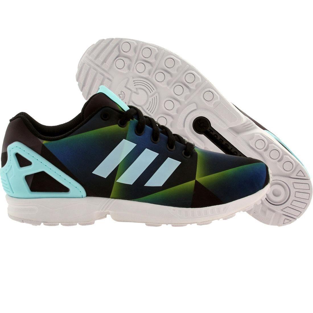 buy online 95c48 85b8c Adidas Originals ZX Flux  Geometric Corriendo Zapatos hombres B34516 Adidas  Originals Zx Flux