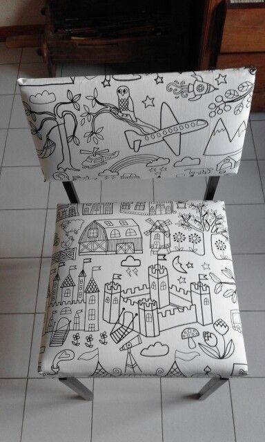 Creazione di www.vitorealizza. com con stoffa Ikea