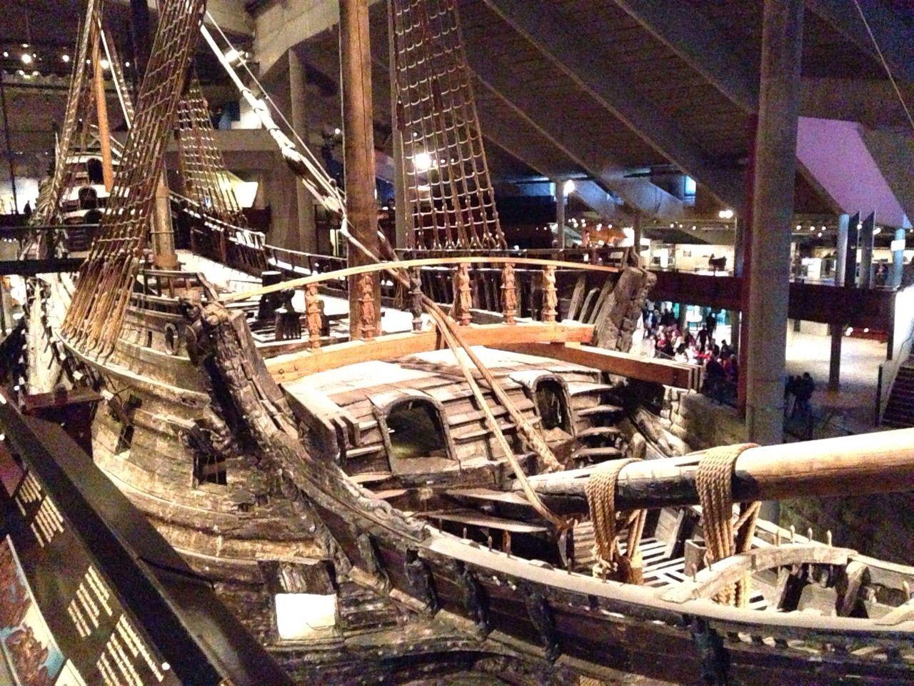 Barco sueco del 1600