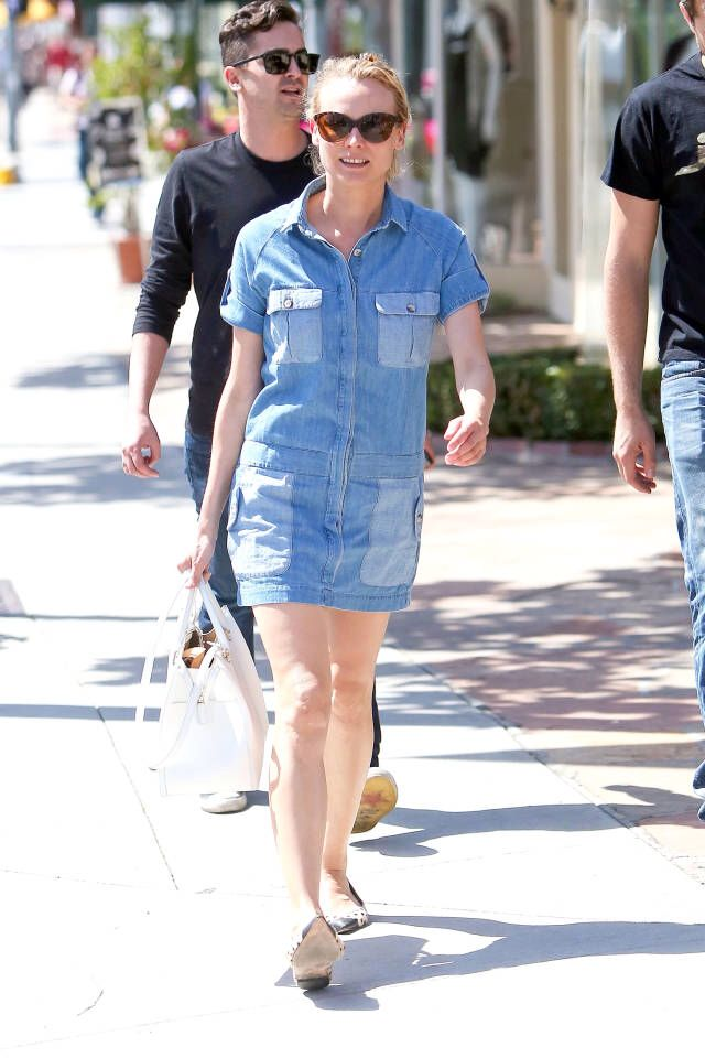 Jeans Dress Celebrity