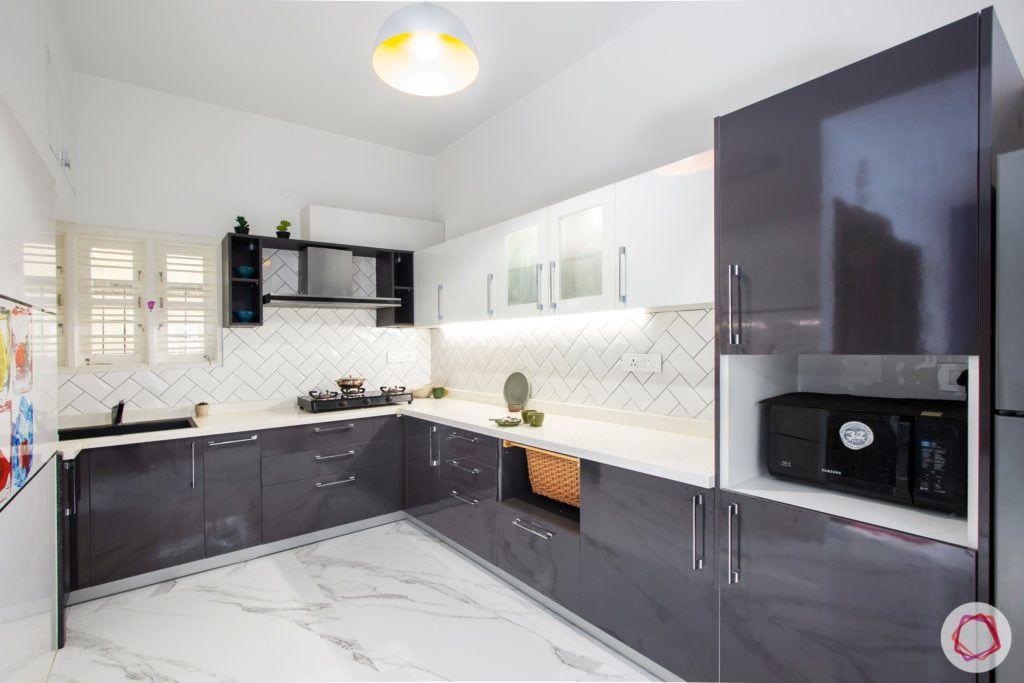 Duplex House Design Ideas 4 Bhk Home Design For Home Kitchen Design Color Grey Kitchen Designs Home Interior Design