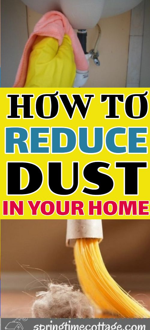 How To Control Dust In Your Home Cleaning Hacks House Cleaning