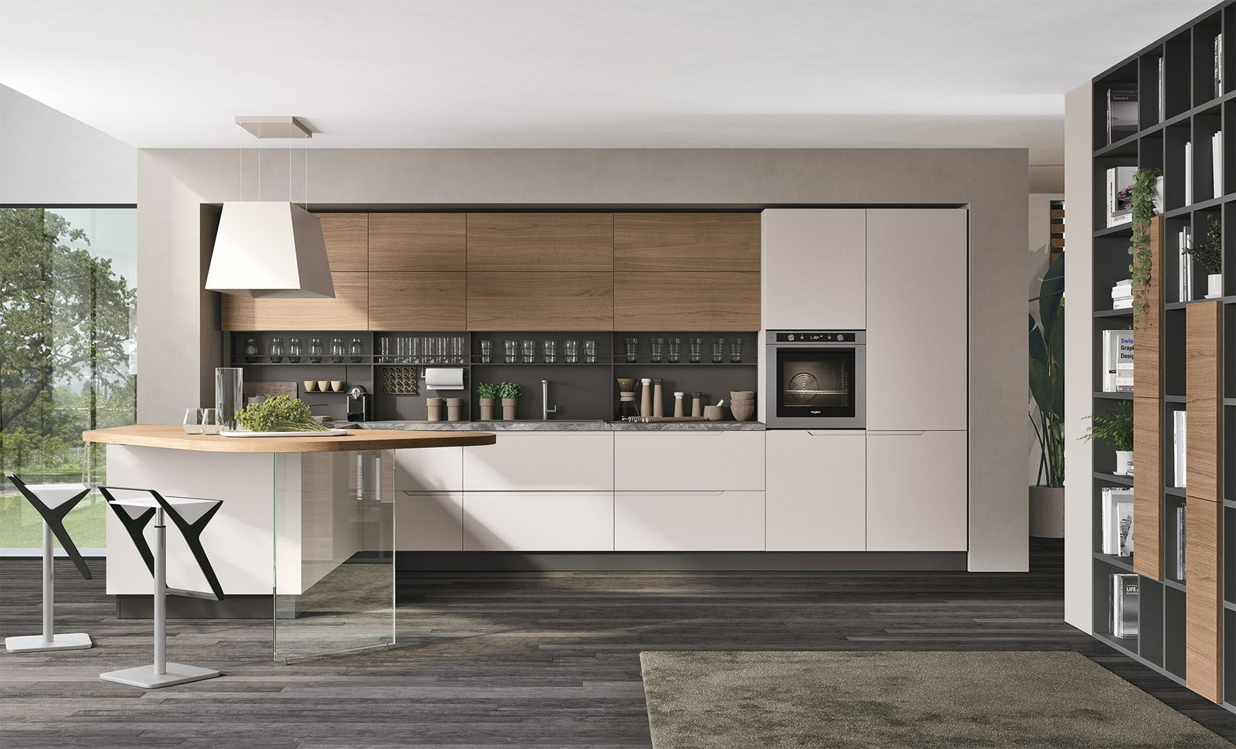 Casa Tua Arredamenti Rovato Кухня lube luna в 2020 г. | Кухонный полуостров, Итальянские