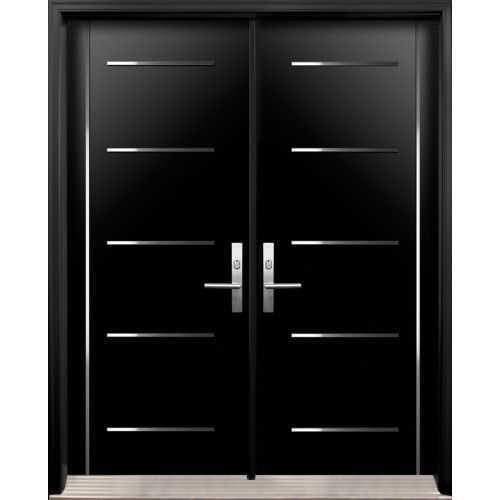 Modern Entryway Doors : Modern double front door design ideas