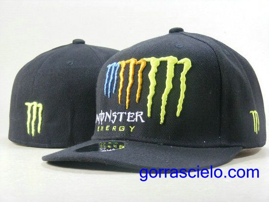 a3c6b2e8fcb63 Comprar Baratas Gorras Monster Energy Fitted 0089 Online Tienda En Spain.