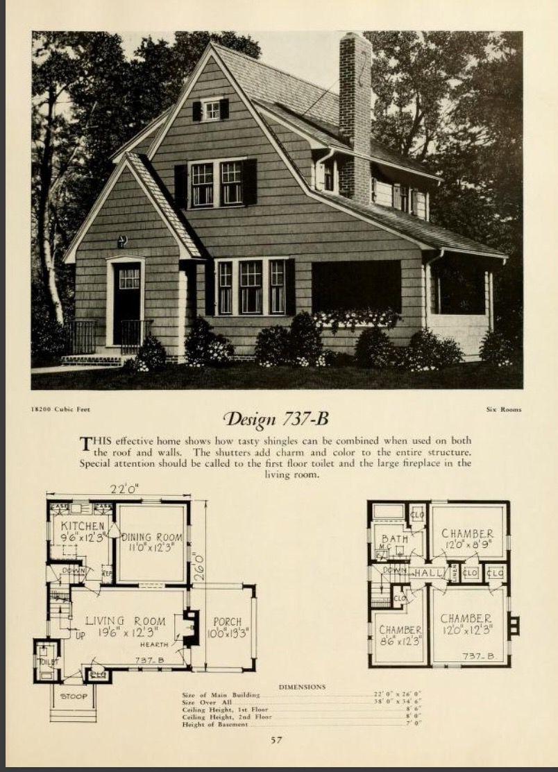 Antique House Vintage House Plans Floor Plans
