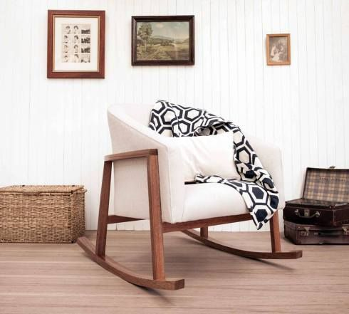 Style Of Rosaline Rocking Chair Bunny & Clyde Top Design - Style Of wooden rocking chair for nursery Style