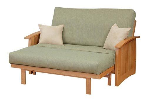 Denali Dark Cherry Loveseat Futon Set By Strata Furniture Futons Pinterest Sets And Sectional Sofa
