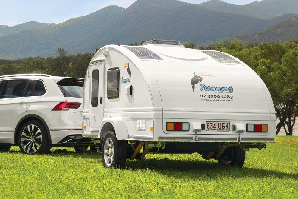 Tucana Teardrop Camper Teardrop camper, Teardrop caravan