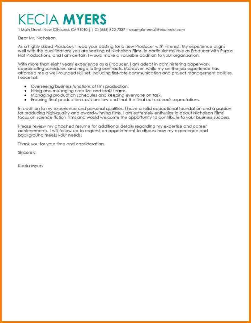 Cover Letter Sample Program Proposal Template Dia Entertainment Media  Contemporary