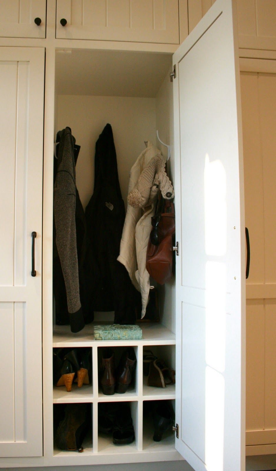 Another behind closed doors for mudroom living spaces pinterest