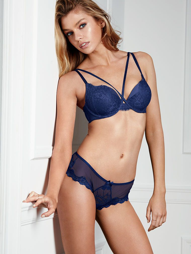 "58cb4bc325 dailystellamaxwell  "" NEW  Stella Maxwell for Victoria s Secret Lingerie  (October  16) """