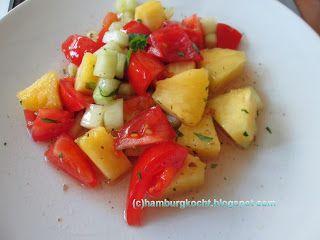 Hamburg kocht!: Nach-dem-Kochtreffen-Restekochen: Tomaten-Gurken-S...