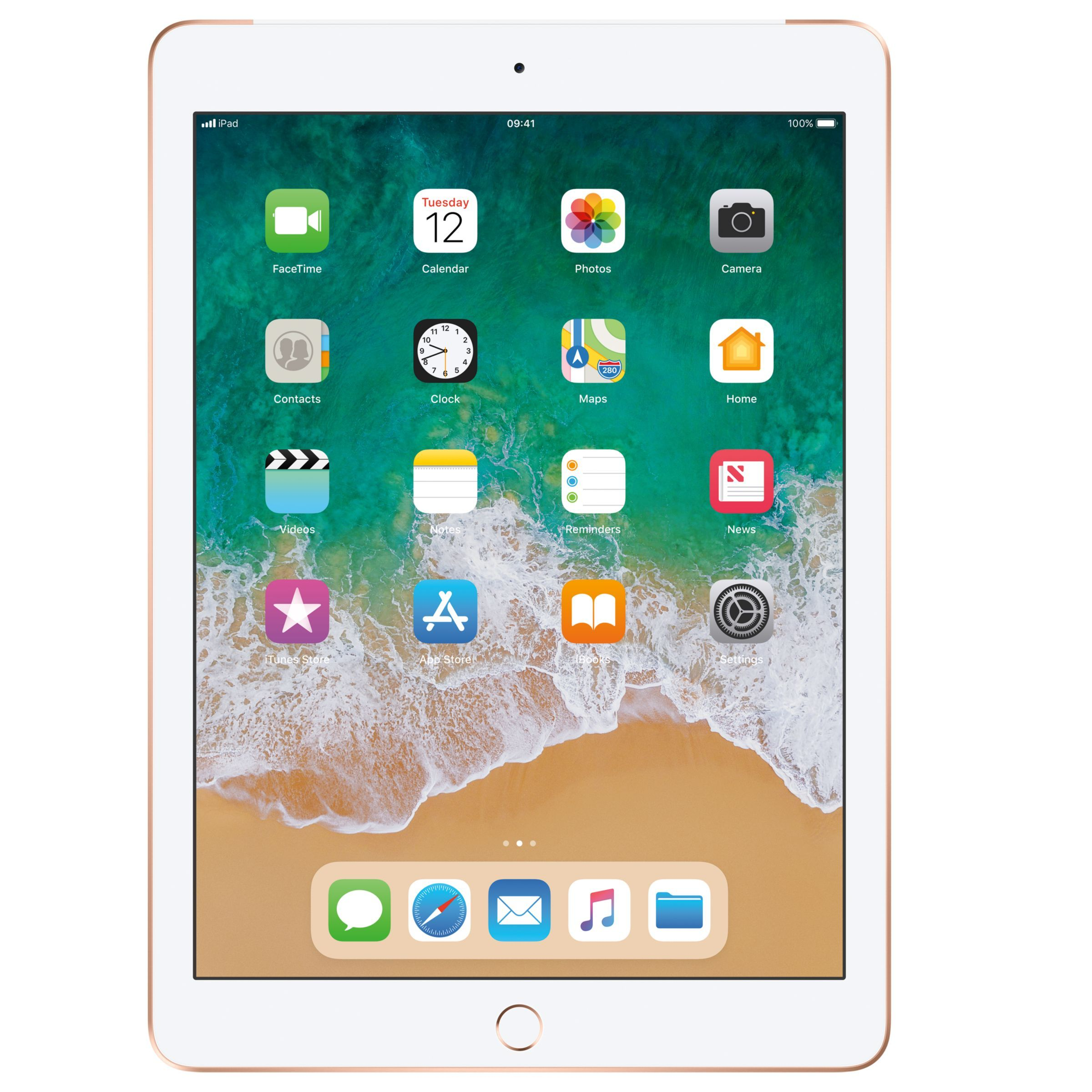 2018 Apple Ipad 9 7 A10 Ios 11 Wi Fi Cellular 128gb Silver New Apple Ipad Apple Ipad Ipad 32gb
