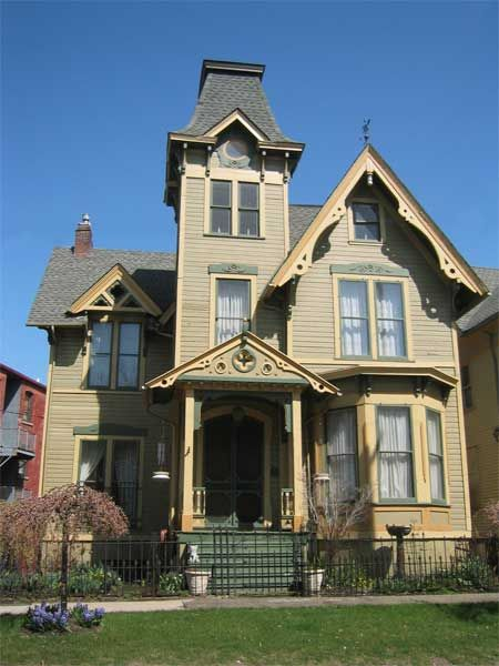 Courtesy Of Ohio City Inc Thisoldhouse Com From Best Old House Neighborhoods 2013 The Midwest House Victorian Homes Victorian Style Homes