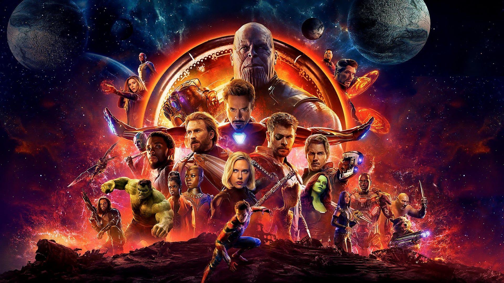 Download Marvel Cinematic Universe Desktop Wallpaper PNG