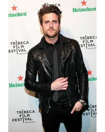 Jared Followill Leather Jacket Shirt And Tie Rock N Roll Vow