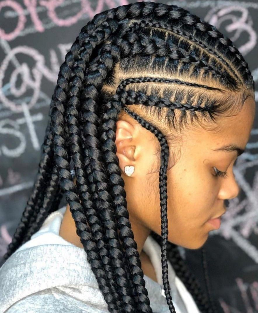 Black Women Hairstyles For Short Hair Blackwomenshairstyles Cornrow Hairstyles Hair Styles Braids For Black Hair
