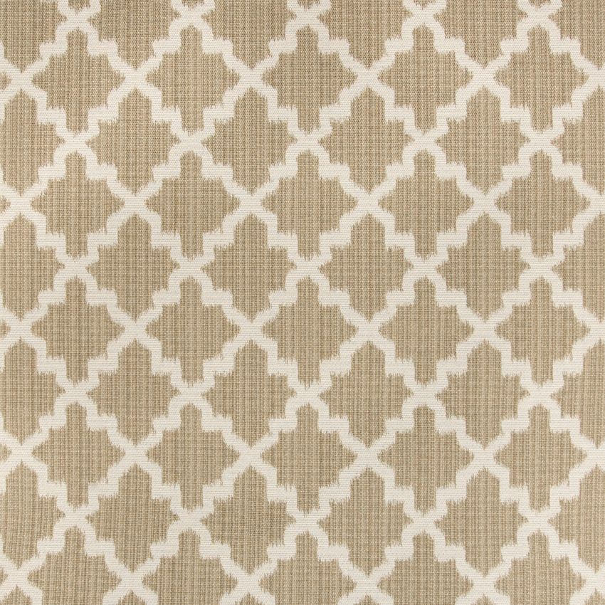 The G0058 Sandstone upholstery fabric by KOVI Fabrics features Diamond, Geometric, Ikat pattern and Brown as its colors. It is a Cotton, Woven type of upholstery fabric and it is made of 58% Cotton, 42% Polyester material. It is rated Exceeds 35,000 double rubs (heavy duty) which makes this upholstery fabric ideal for residential, commercial and hospitality upholstery projects. This upholstery fabric is 55 inches wide and is sold by the yard in 0.25 yard increments or by the roll.For help…