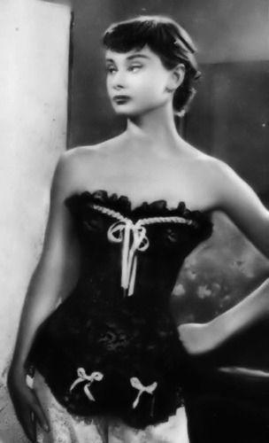 Audrey Hepburn in Monte Carlo Baby, 1952.* #classicactresses