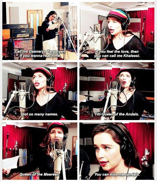 """From Game of Thrones """"musical"""", by Coldplay"""