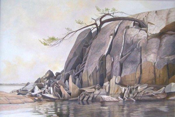 Artist Ivan Wheale Manitoulin Island Artist Painting Art