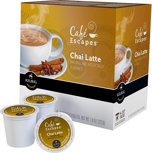 chai tea latte k cups