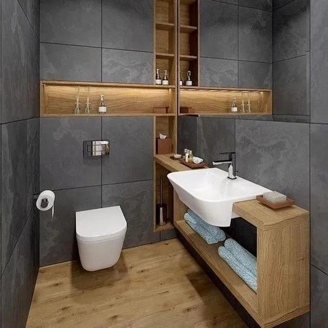 40 creative small bathroom ideas and designs australian on bathroom renovation ideas australia id=72677