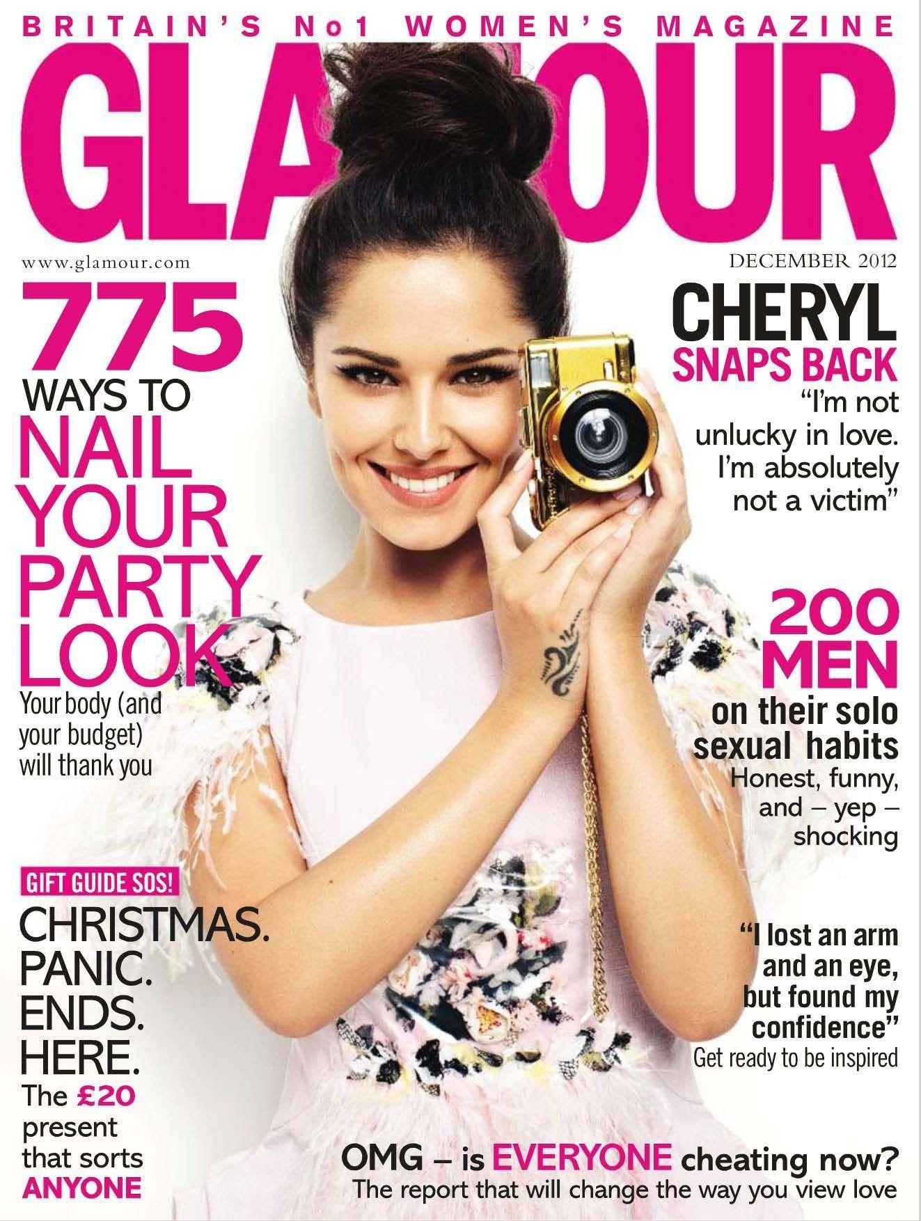 Cheryl Cole Glamour Magazine Cover [United Kingdom