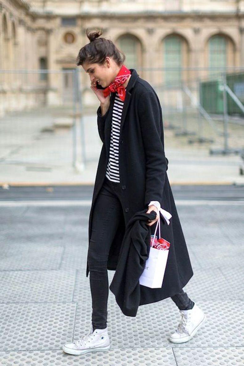 35 Ideas Para Combinar Tu Abrigo Negro