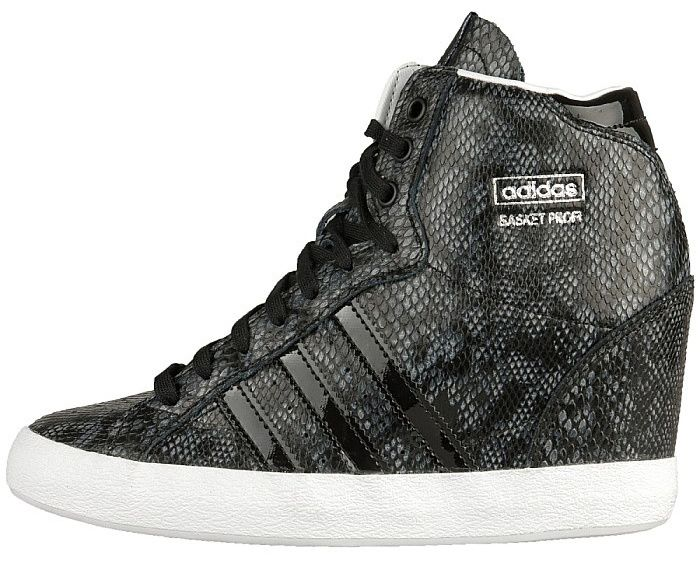 c3192e95 nike wedge sky hi snake skin | adidas basket profi up women wedge ...