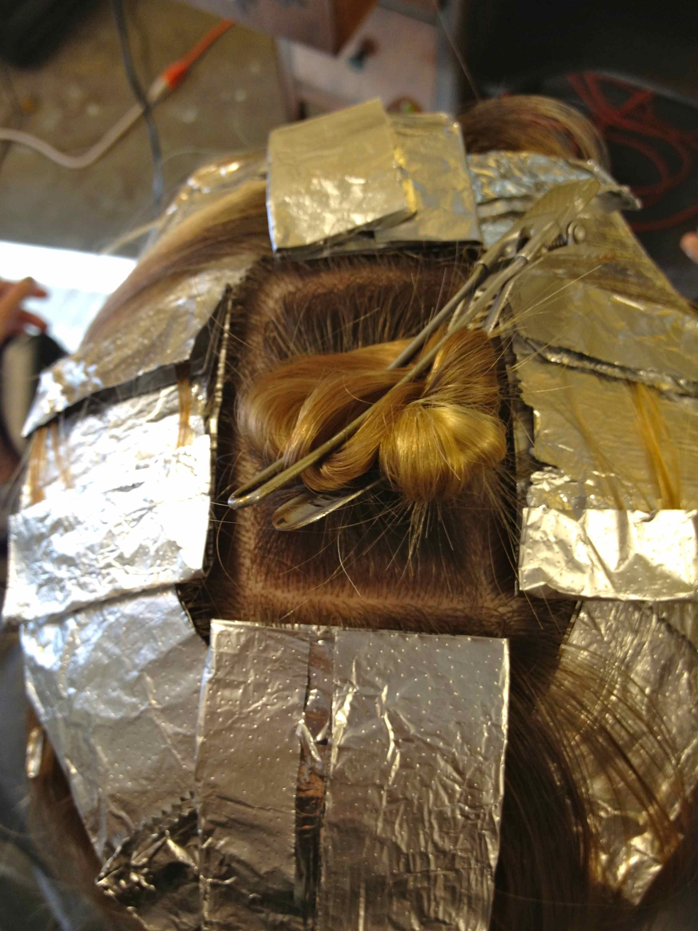 How to foil your own hair beauty pinterest hair coloring diy hair sectioning tutorial for chunk coloring great clear instruction pmusecretfo Choice Image