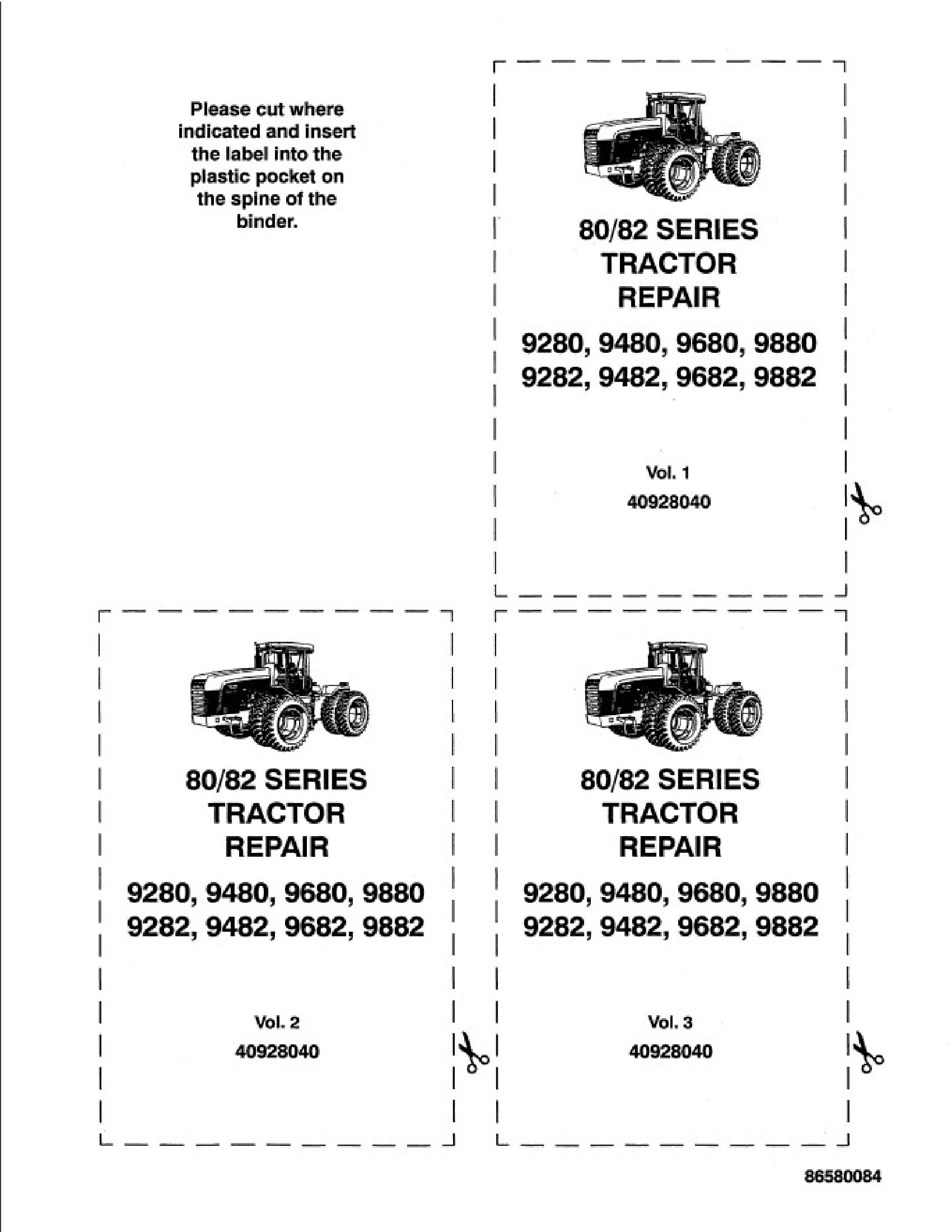 New Holland 80 Series Tractor Manual In 2020 Tractors New Holland Repair Manuals