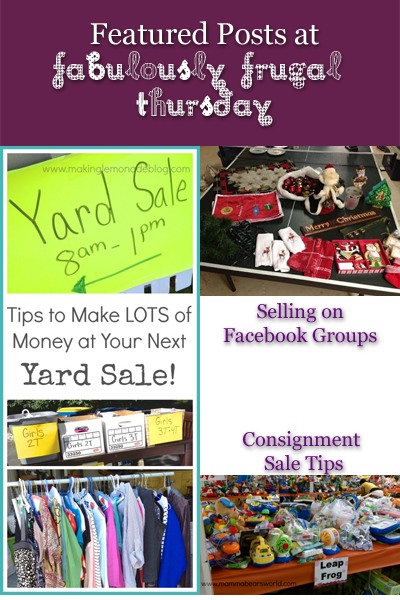 Amazing huge list of frugal tips - freebies, yard sale tips, make it yourself tips, DIY, and more!