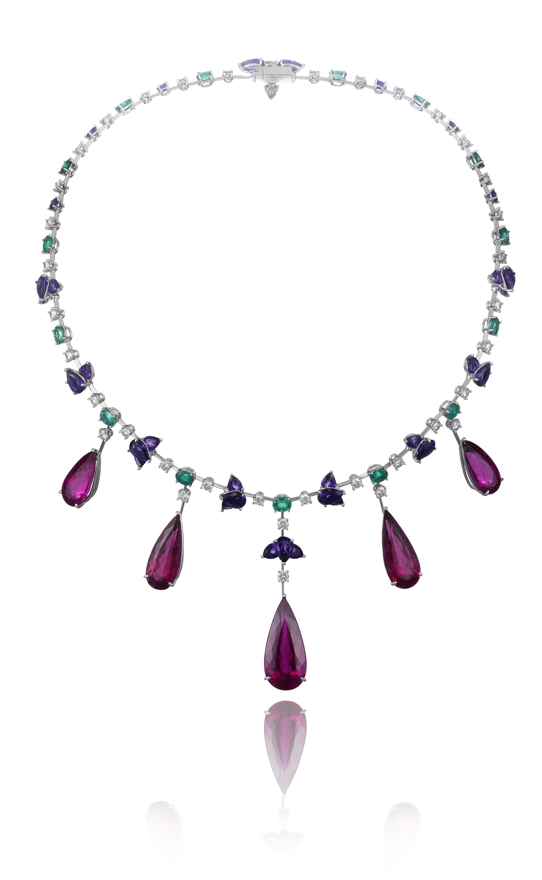 Chopard Rubellite Necklace, part of the Red Carpet Collection ...